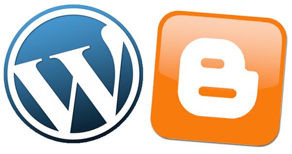 WordPress o Blogger para crear un blog