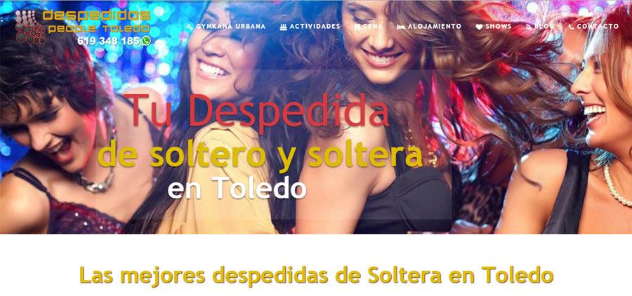 Despedidas de soltera Toledo
