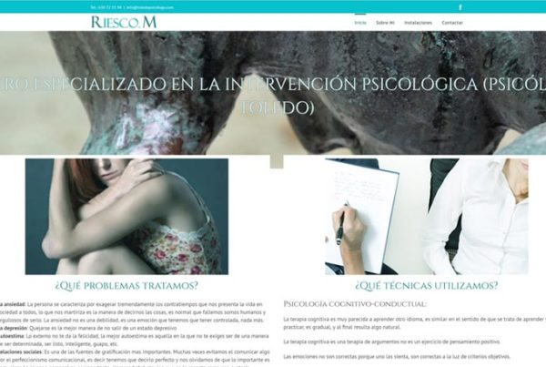 Psicólogos en Toledo / Riesco M